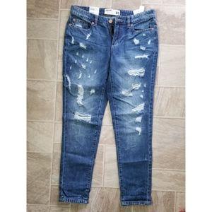 NWT Garage Distressed Boyfriend Jeans